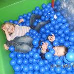 fun in the ball pit!