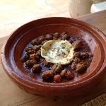 enjoyed a wonderful lunch upon our arrival (lamb tagine for my boyfriend)