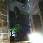 Interior patio of the hotel