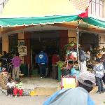 Fresh-food market near Magdalen House
