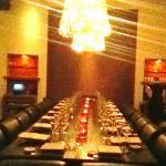 fantastic table set up
