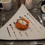 Extra zum Frühstück - Lachs auf Kartoffelpuffer