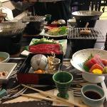 Abendessen im Biyunoyado