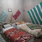 Une des chambres, très confortable.