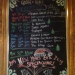 December at The Globe