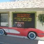 Corvette Mural