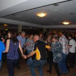 some of the dancers enjoying the ceili on Sunday afternoon