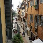Vista su Via Mazzini