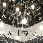 Reception Chandelier by London Artist, George Singer