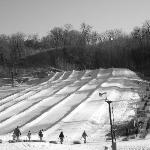 Snowtubing is so much fun!