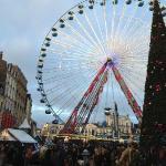 La grande roue et le marché de Noël Lille 25 Novembre 2012