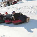 Everyone can go snowtubing!!