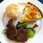 Breakfast - quiche