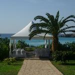 The Wedding gazebo - fantastic view
