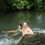 natural thermal river