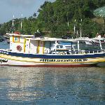 barco de buceo