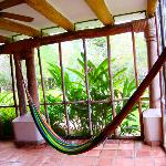 Room upgrade with an outdoor hammock :)