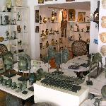The interior of Gallery Demeter showing just a portion of the great quality pieces for sale ther