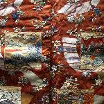 Detail of exquisite Japanese textile