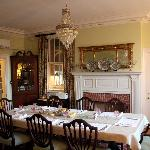 Dining room (where breakfast is served).