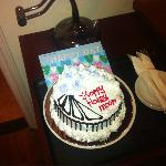 Cake in our room