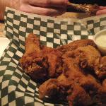 Wings and great service at the Wooden Door