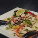 Hot & Sour Seafood Salad
