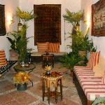 Lobby of Hammam al Andalus