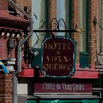 Sign at Hotel Vieux Quebec