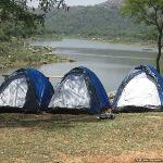 waterfront tents