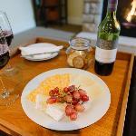 Wine & Cheese Plate
