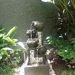 In villa