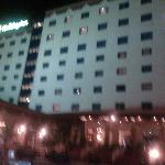 Snap shot from pool side at nite