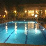 Swimming Pool at Nite