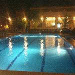 Swimming Pool at Nite