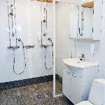 PyhäSuites 55m² apartment's bathroom