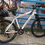 BW bike I used in Yangon
