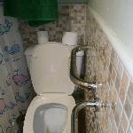 toilet not legal rail too close