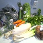 購入した野菜たち
