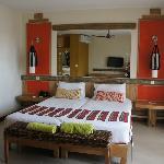 très belle chambre avec balcon
