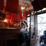 Bar by the enterance door