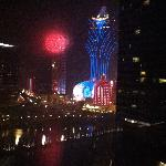 View from room on New Years Eve