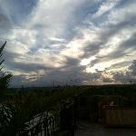 vue ciel terrasse