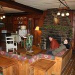 Lounge where we had breakfast