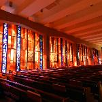 Stained Glass Windows Catholic Chapel