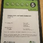 For the second year running we were awarded 5* for Health & Hygiene.
