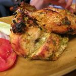 Murgh tandoori -- melt in your mouth chicken goodness!