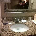 sink that didn't drain