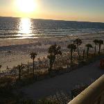 Ocean view from the Boardwalk Hotel