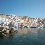 View of Procida harbour